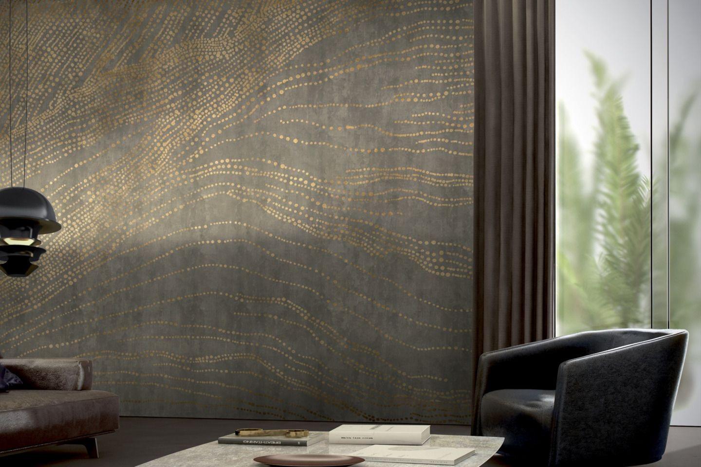Schöne Wandgestaltung mit Designtapeten von GLAMORA