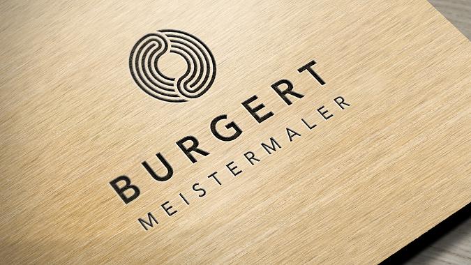 Neues Firmenlogo Meistemaler Burgert in Niefern