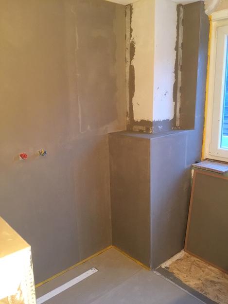 badumbau zu fugenloser dusche maler pforzheim. Black Bedroom Furniture Sets. Home Design Ideas